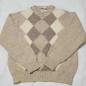 THE BAY by ALAN PAINE SHETLAND ALL WOOL
